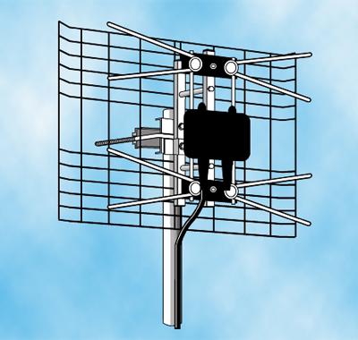 Small UHF Phased Array Digital Antenna