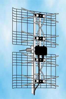 Large UHF Phased Array Digital Antenna